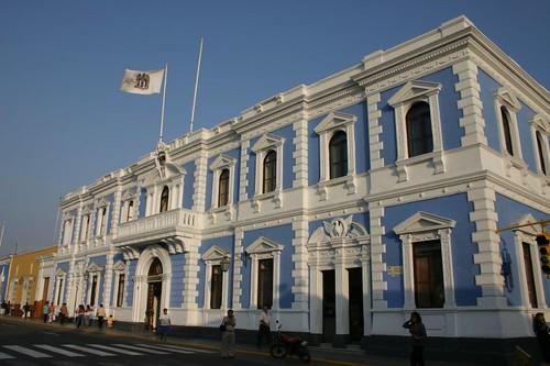 Municipalidad. Trujillo, Peru.
