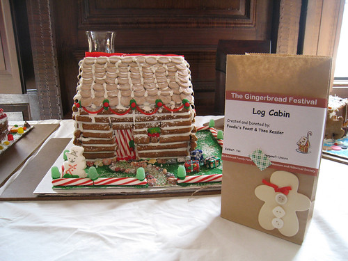 Gingerbread Festival: Log Cabin
