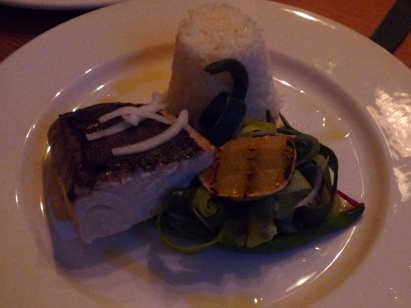 Fillet of kingfish