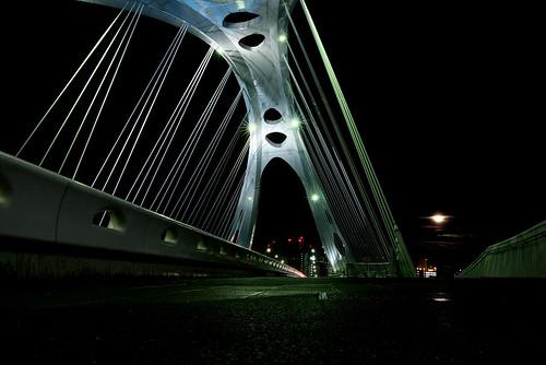 Shining bridge