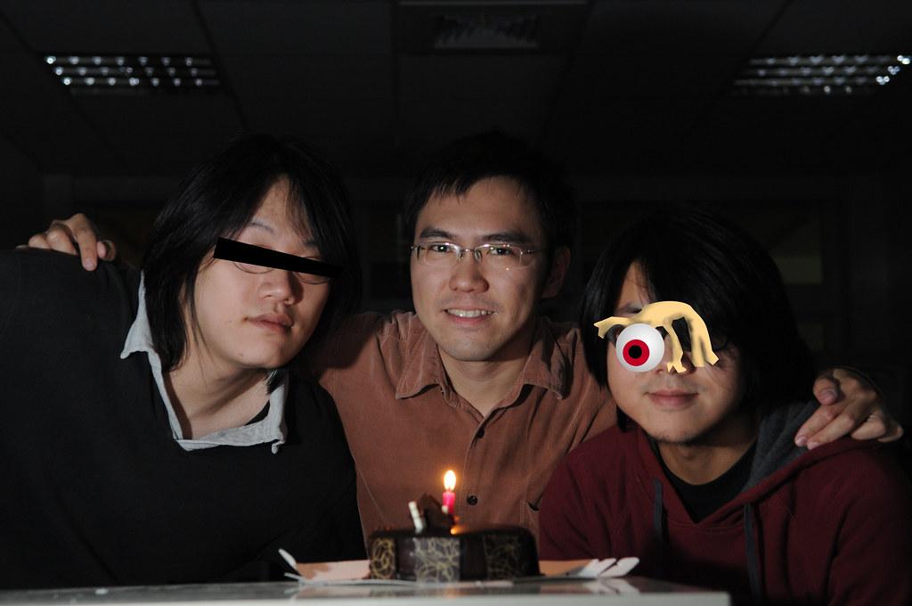 我和實驗室兩位天才學弟,岡隆、文喆