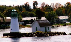 362.  Small But Functional (Port City Pictures) Tags: lighthouses stlawrenceriver alexandriabay