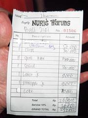 NURI'S WARUNG豬肋排