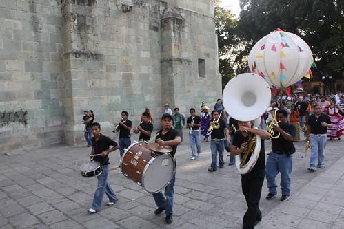 Calende en Oaxaca