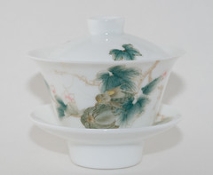 Locust & Melon Gaiwan (debunix) Tags: tea porcelain ware gaiwan