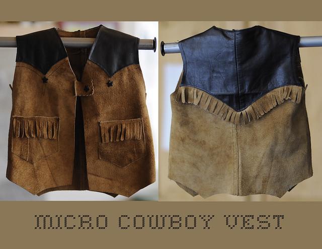 micro cowboy vest