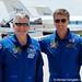 09 Crew arrival - Photo Credit: Michele Famiglietti AMS02 Collaboration