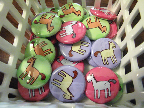 Pony buttons!