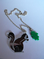 My Squirrel brings all the acorns to the yard necklace (peskychloe) Tags: handmade jewellery independent copper lbc peskychloe lifesbigcanvas