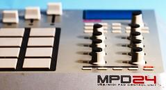 AKAI MPD24 (NinjaWeNinja) Tags: lighting canon dj gear ab 7d midi controller strobe alienbees b800 mpd24
