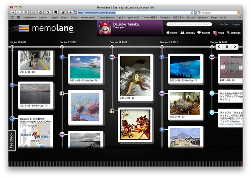 Memolane | See, search, and share your life