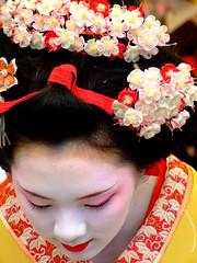 Baikasai () - Ichiteru (ericlty) Tags: japan kyoto maiko geiko  teaceremony  ocha baikasai kitanotenmangushrine  kamishichiken   plumblossomfestival  ichiteru  theperfectphotographer