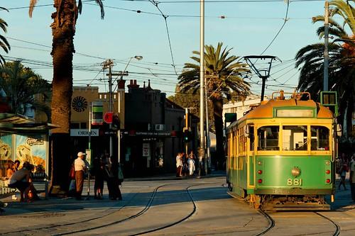 St Kilda tram stop