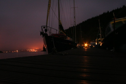 East Ferry in the Dark