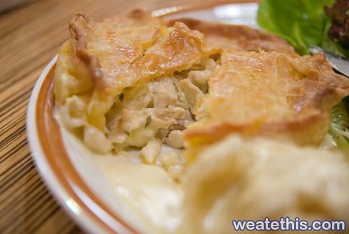 Juicy Chicken Pie