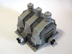 Factory (onosendai2600) Tags: factory lego micro moonbase modules moc wintermuteindustries