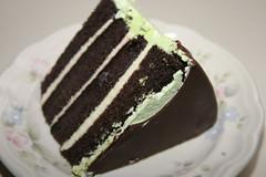 A birthday slice