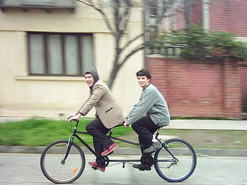 Joselito y Coke en Tandem
