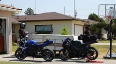 DSC_0179.jpg (EleqTrizi'T) Tags: ninja 2006 motorcycle yamaha r1 sportbike 2007 zx6r 636