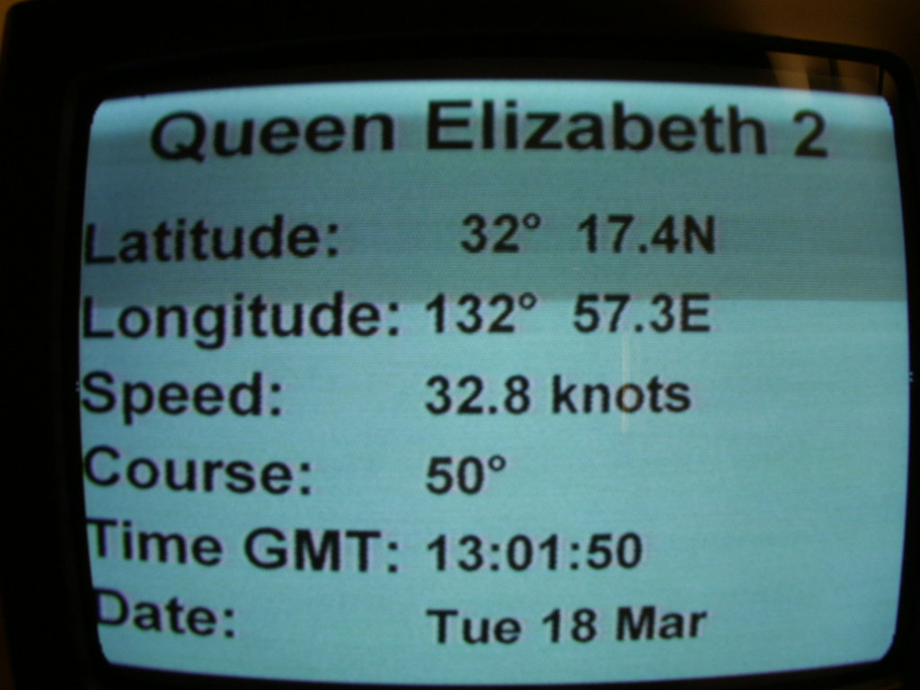 QE2 at 32.8 knots (the fastest liner in the world still has it)