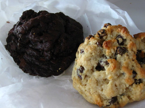 Oatmeal Raisin and Dark Chocolate