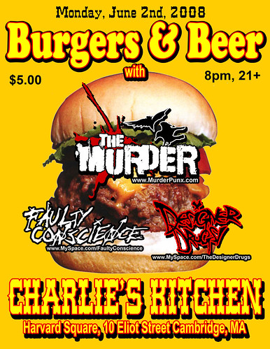 Charlies Kitchen Flyer
