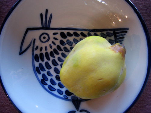 quince with chicken bowl