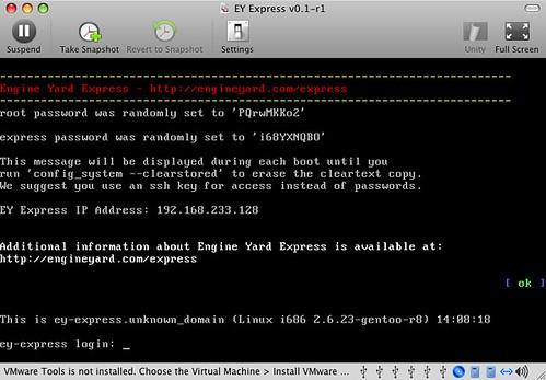 EY Express 0.1.1