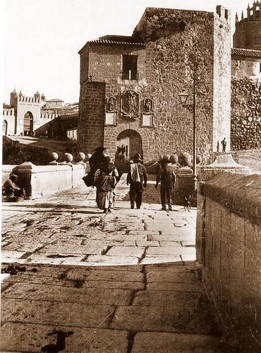 Puerta y Puente de San Martín (Toledo, España)