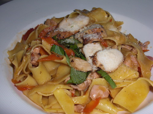 Pappardelle with rabbit ragout