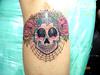 tatuagem new school caveirinha TARZIA TATTOO -
