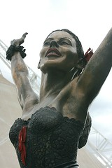 Kylie Minogue Statue (Memories Of Mine Photography) Tags: statue docklands kylieminogue