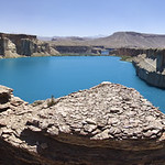 Band-e-Amir, close to Bamyan in Afghanistan