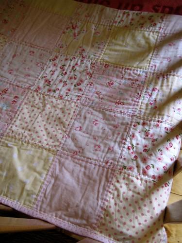 Daphne's quilt.