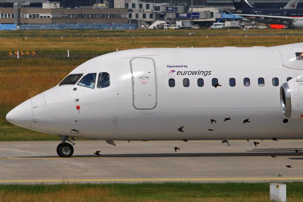 Lufthansa Regional (Eurowings) British Aerospace BAe 146-300 D-AEWQ (17744)
