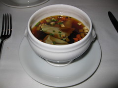 Old Town Brasserie: Duck consomme