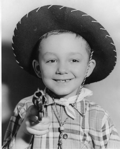 Dad as a cowboy
