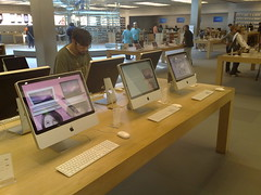 Apple store, NYC, 5th Ave.