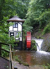 Waterwheel in the Groudle Glen