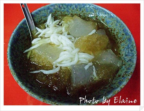 黑糖米苔目剉冰