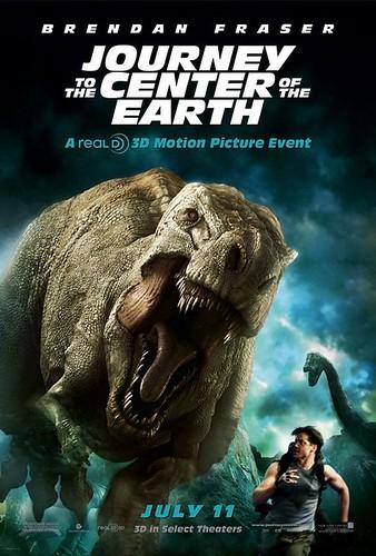 Viaje al centro de la Tierra poster 2
