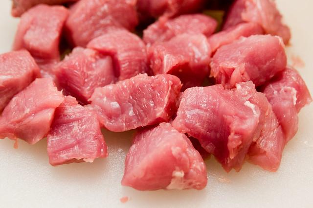 Pork & Mango Kabobs