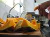tia lu prep (parttimefarm) Tags: kitchen brasil squash chacara prep butternut echapora