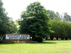 Wisonsin Ave Baptist Church, in DC (c2008, FK Benfield)
