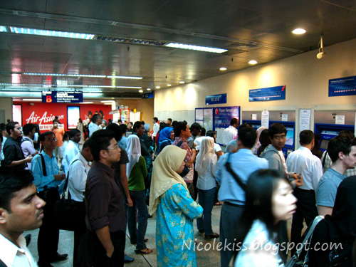 machine tickets queue - LRT