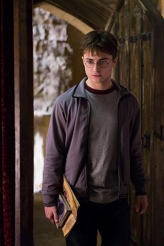 Harry Potter y el misterio del príncipe, libro y mapa