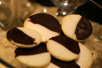 Gluten-Free Black and White Cookie