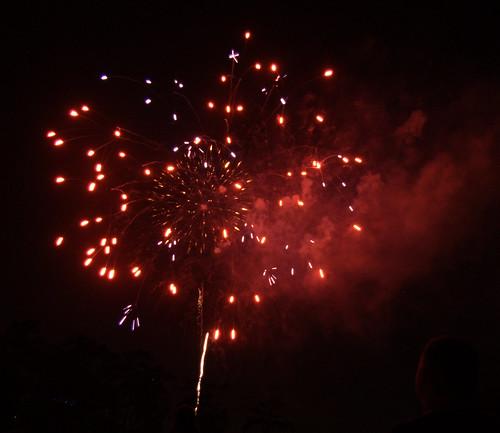 Hermann Park Fireworks 6