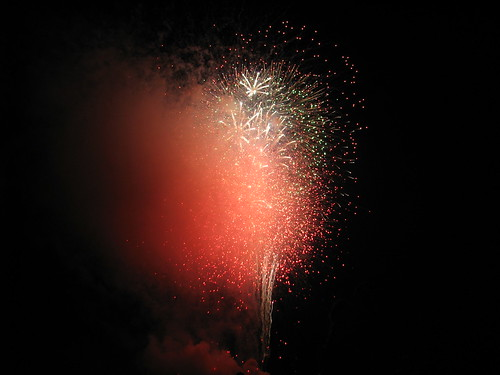 FireWorks At Camp Lejeune