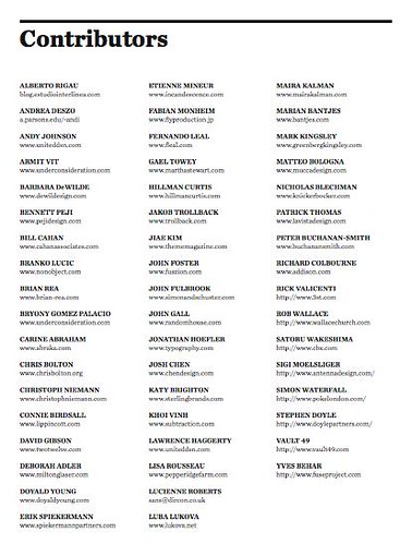 Contributors to the book!